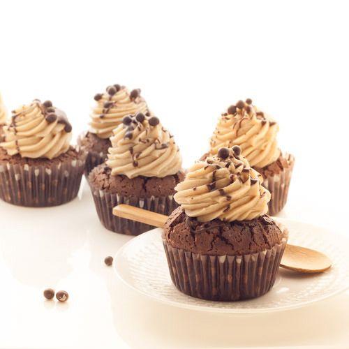 Cupcake au chocolat et à la crème de marrons - Chocolat & Caetera