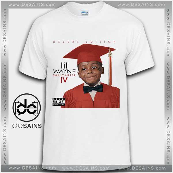 Cheap Graphic Tee Shirts Lil Wayne Tha Carter IV Tshirt on Sale //Price: $12 Gift Custom Tee Shirt Dress //     #Desains #Tees #Shirt #Dress