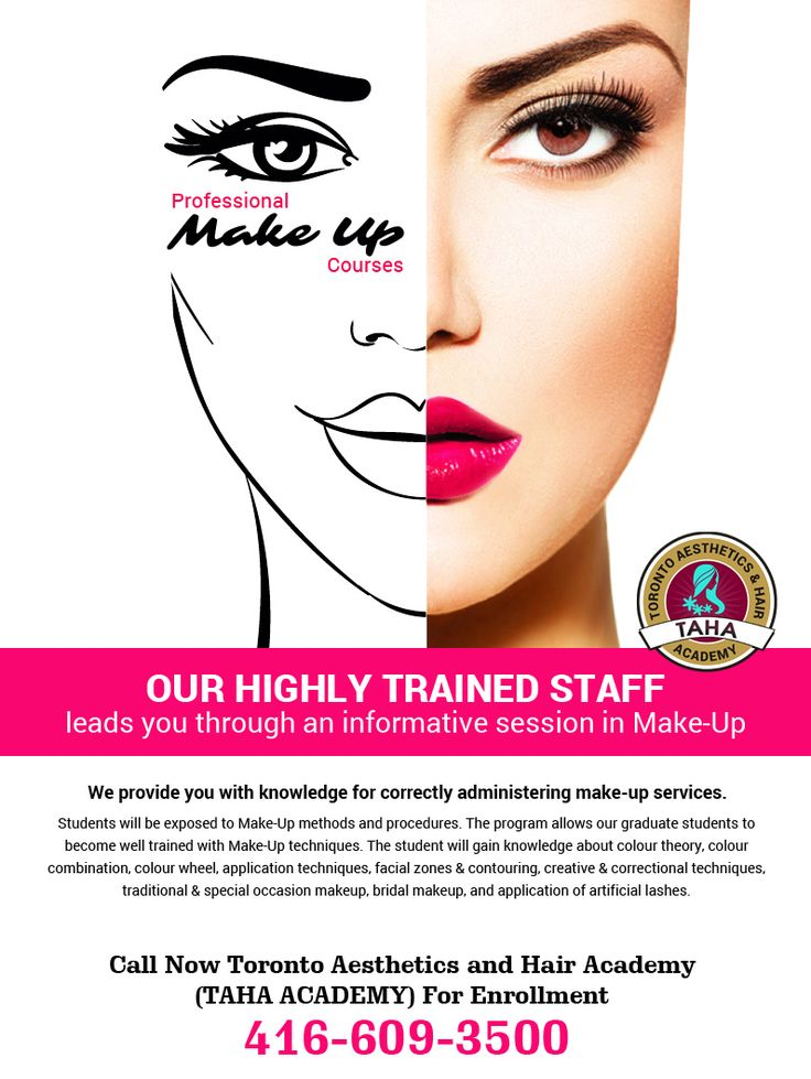 Advanced #Makeup #Techniques allows our graduate students to become well trained with #MakeUp methods. https://goo.gl/cZ4SQZ