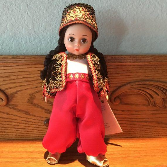 Vintage Madame Alexander Doll Algeria 528 8 by VintageCrazyGirl