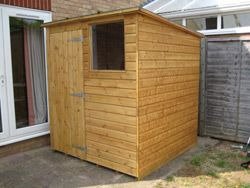 6 x 6 Pent roof Shed