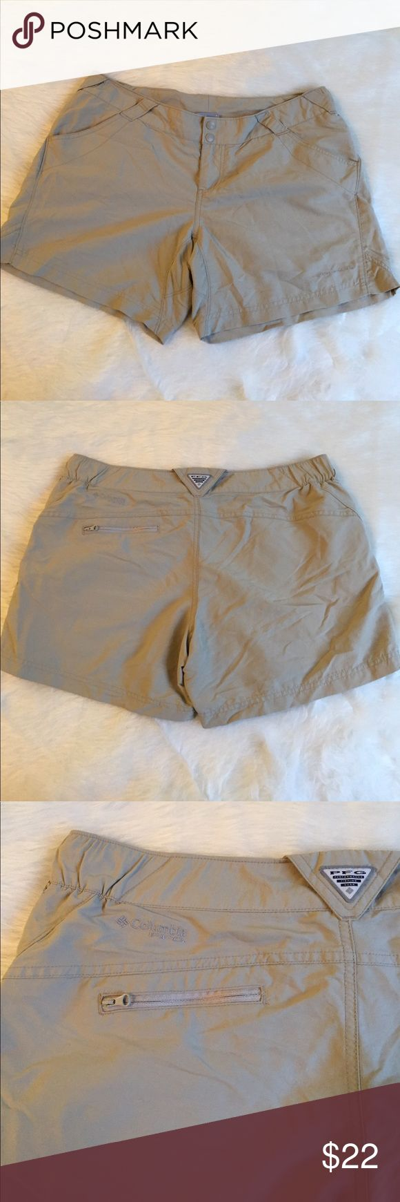 COLOMBIA Fishing Shorts Women's size large, used but in good condition Columbia Shorts
