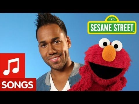 "▶ Sesame Street: Romeo Santos and Elmo sing ""Quiero Ser Tu Amigo"" - YouTube"