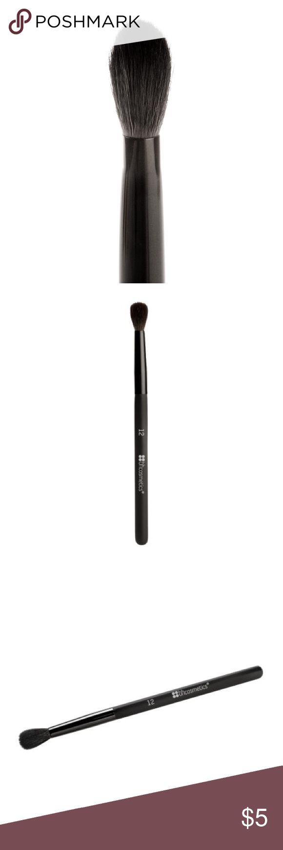 Blending brush Blends your most glamorous eyeshadow colors with this soft, fluffy bristles blending brush. Use this on your crease, brow bones, and cheeks. Brand new!!! This product came directly from BH Cosmetic. BH Cosmetics Makeup Brushes & Tools