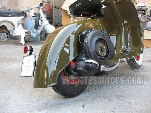 RETRO SCOOTER GARAGE: Vespa Custom