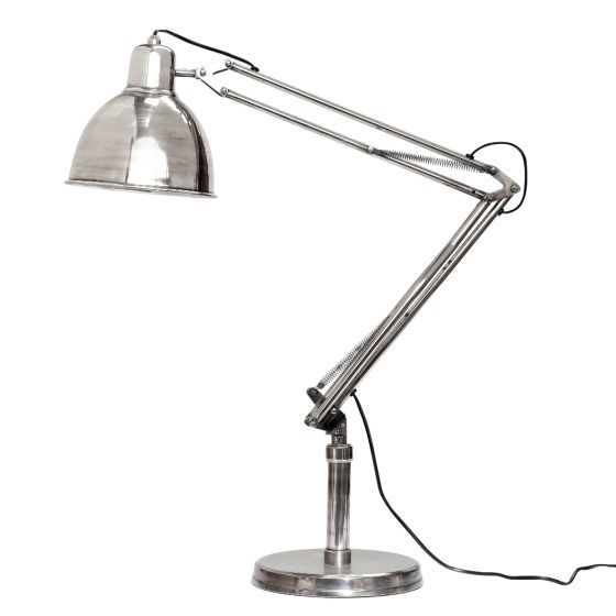 Lampa stojąca Antique Silver