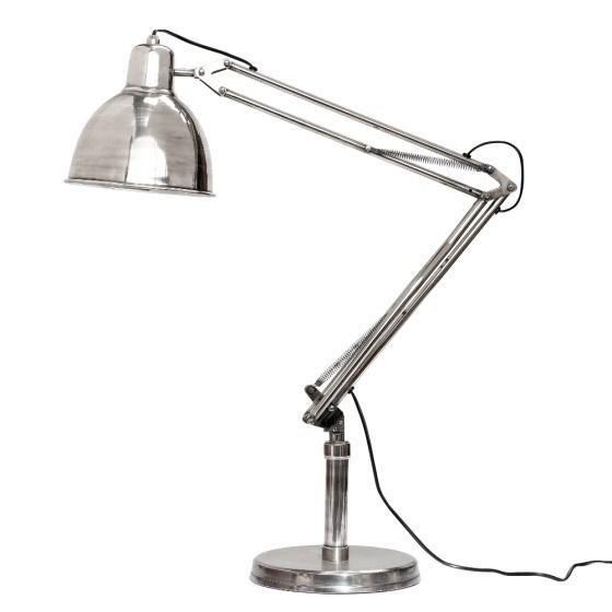 Lampa stojąca Antique Silver