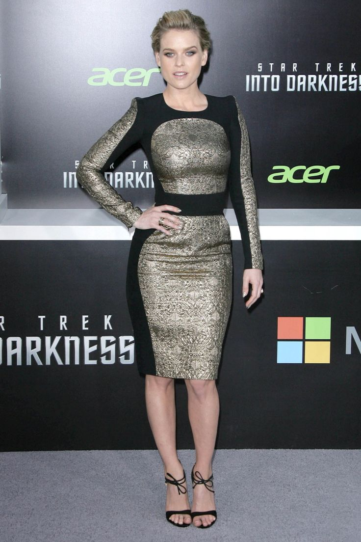 Alice Eve in Zuhair Murad