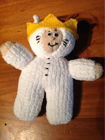 """Where the Wild Things Are"" inspired Max Toy ~ Free Knitting Pattern"