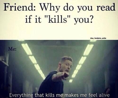 What doesn't kill me makes me stronger...