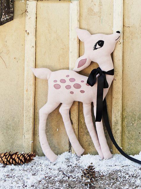 Stuffed Deer - Free Pattern from Burda