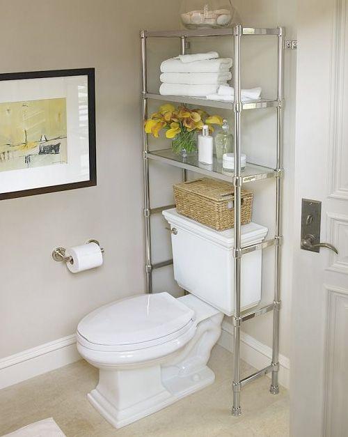 Small Bathroom Over The Toilet Storage Ideas