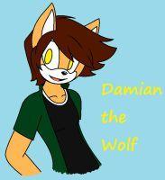 Damian the Wolf by Nekoletta99