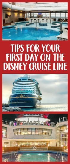Headed out on a Disney Cruise? Here are some tips for your first day on the Disney Cruise Line - from booking beverage seminars to decorating your cruise line door.
