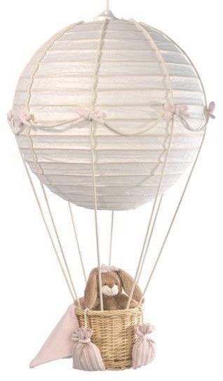 idée pour décor d'aviation. créer une montgolfière avec un ballon chinois