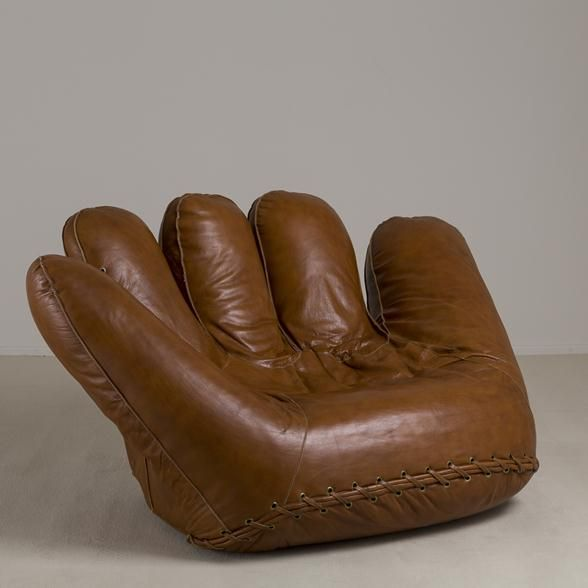 A Large Leather Baseball Glove Sofa For Poltronova 1970s | Historia Del  Diseño | Pinterest | 1970s, Divan Sofa And Lounge Chairs