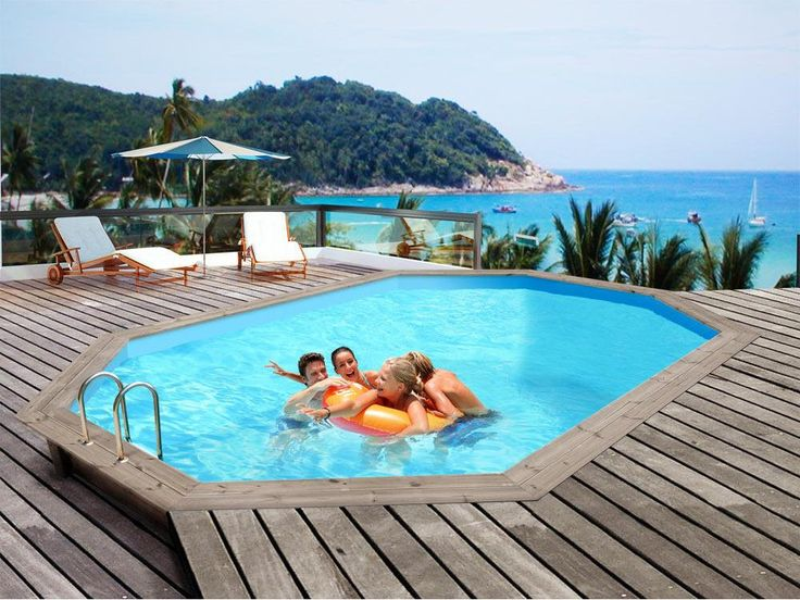 Best 25 piscine octogonale ideas on pinterest for Promo piscine bois octogonale
