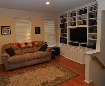 Custom Cabinets Entertainment Center Media Tv Center Traditional Family Room Dc