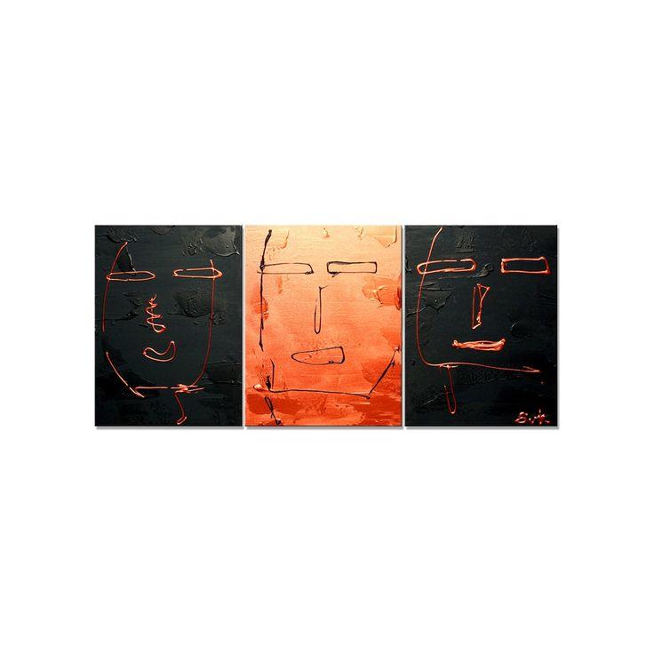 25+ beste idee u00ebn over Woonkamer kunstwerk op Pinterest   Woonkamermeubels, Woonkamer