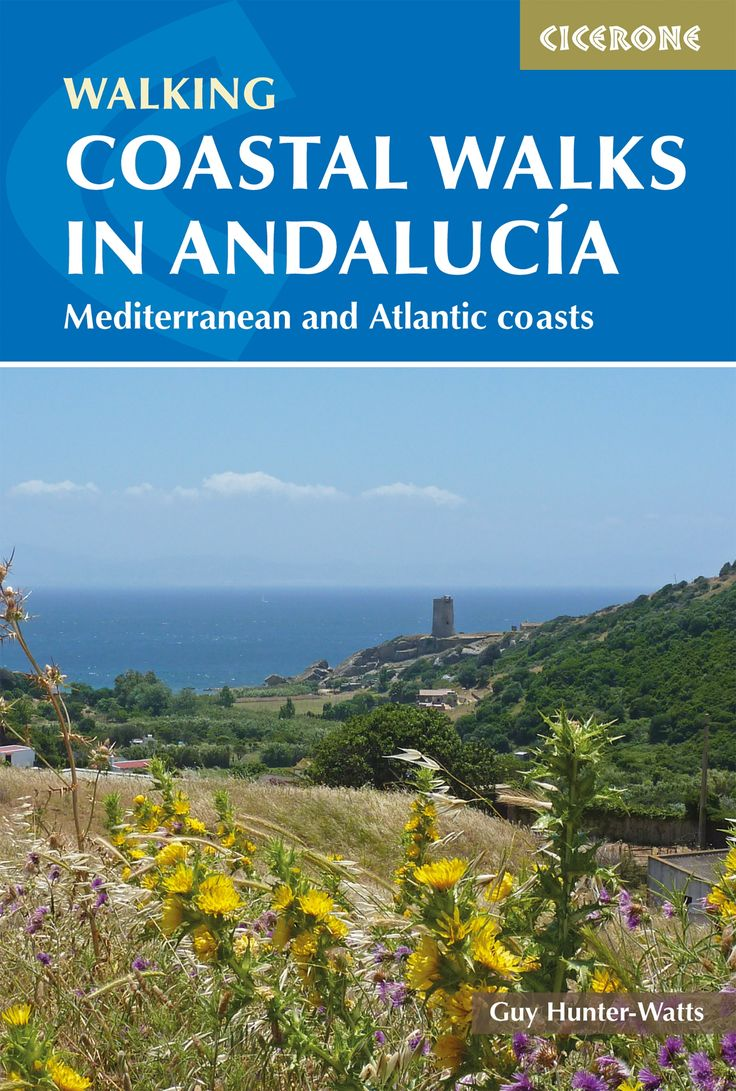 Guidebook to 40 walks on the coast of Andalucía in southern Spain. Walks of 6 to 19.5km in Natural Parks and Reserves covering Costa de la Luz, Costa del Sol, Nerja, and Cabo de Gata.