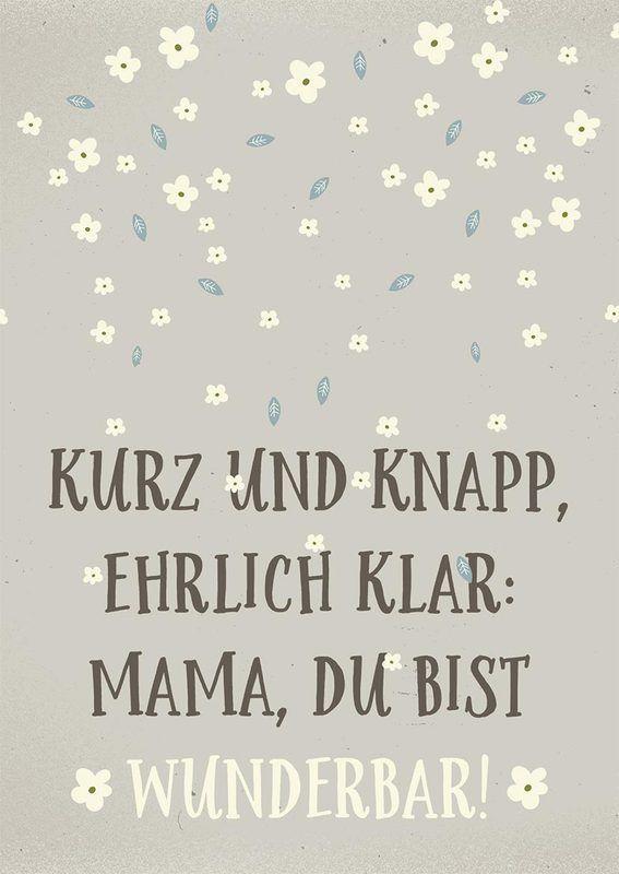 Muttertagsgedichte »20 Muttertagssprüche zum Download