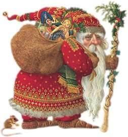 Olde World Santa by James Christsensen