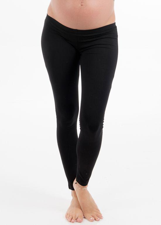Trimester™ - Oasis Winter Fleece Leggings in Black