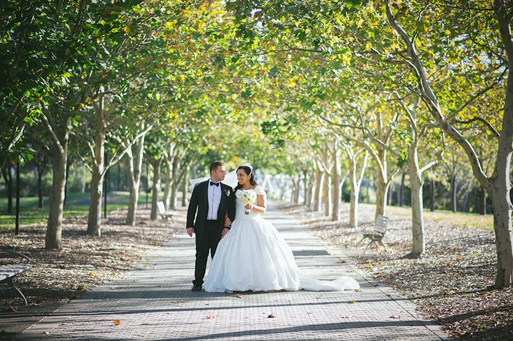 strolling among trees // Ballyhoo Photography