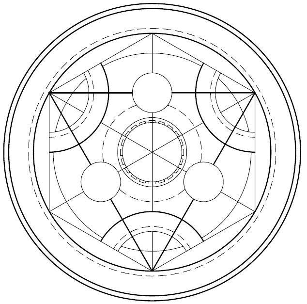 Alchemy symbol by on for Circular symbols tattoos