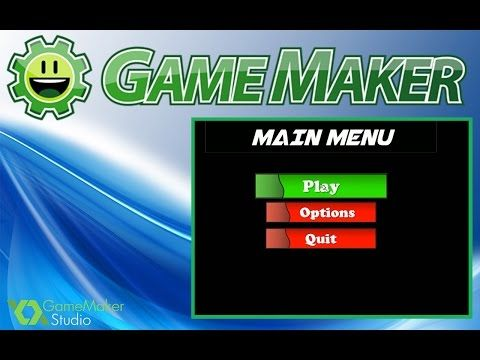Game Maker Studio: Advanced Menu tutorial - YouTube