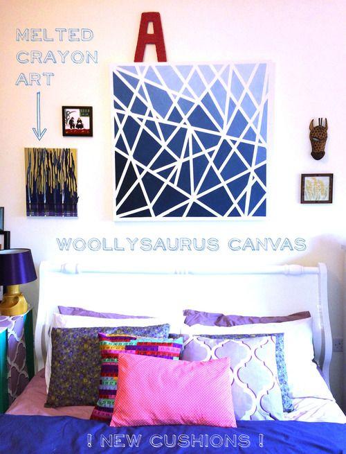 Eclectic Bedroom Reveal / Re-Style // Woollysaurus //