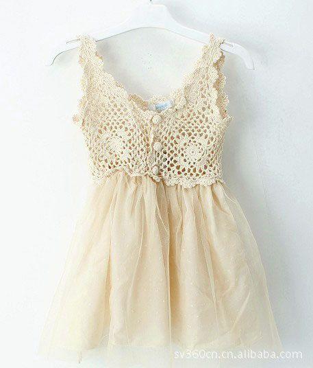 Stunning crochet top tutu boho princess girls dress on Etsy, $38.00