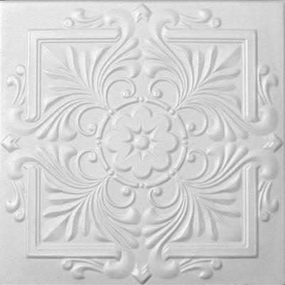 """Styrofoam Ceiling Tile - 20""""x 20"""" #R14"""