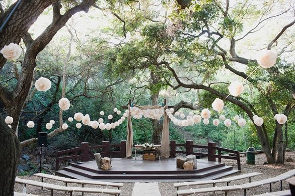 Rustic nature wedding: Oak Canyon Nature Center in Anaheim, California AKA where my brother is getting married in July
