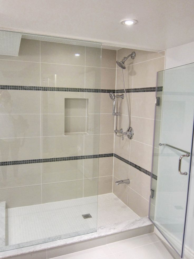 Shower Floor Tiles Which Why And How: Just An Idea Of What Beige/cream/tan Tiles Look With White