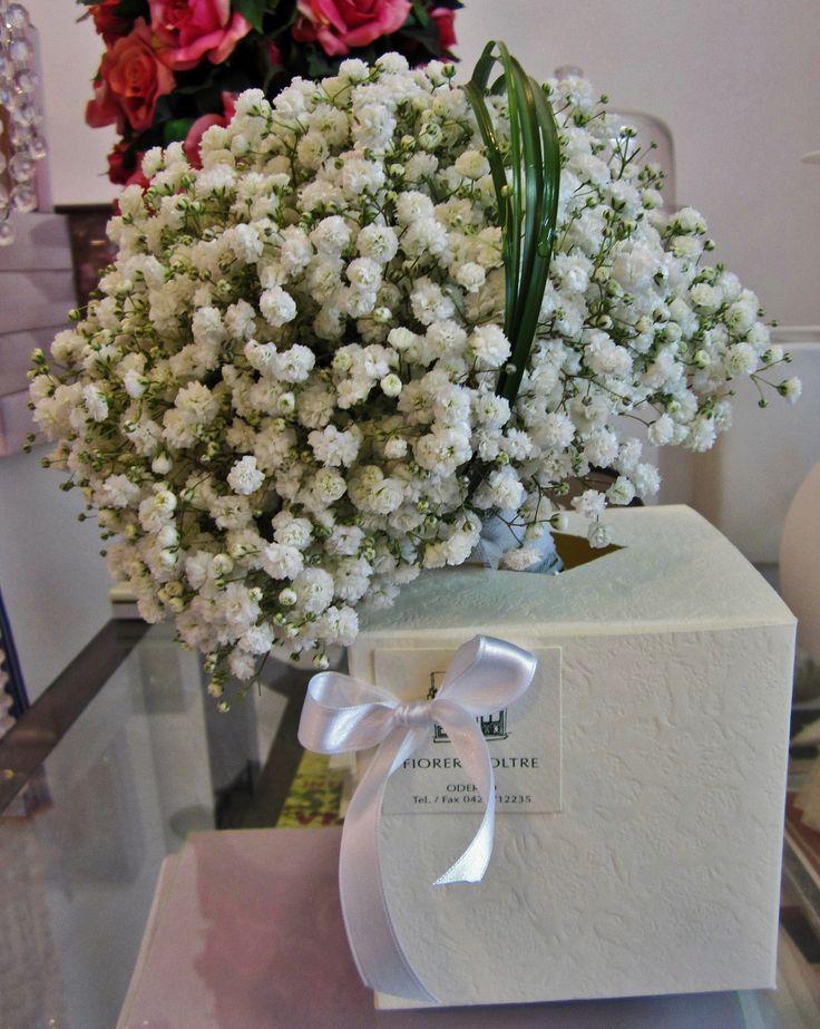 Fioreria Oltre/ Bridal bouquet/ Baby's breath