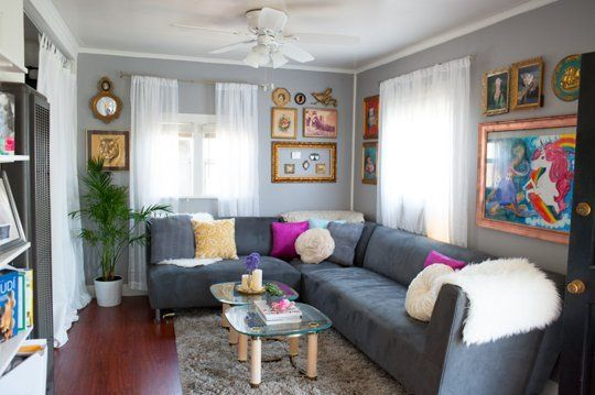 Small Space Lessons: Floorplan and Solutions from Laura's Big Ideas for a Small Home | Apartment Therapy