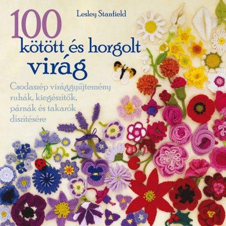 Caitlin Sainio: 100 kötött és horgolt virág