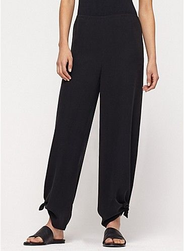 Eileen fisher plus size wide leg pants