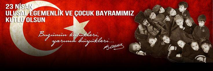 Türk Milletinin istikbali bugünkü çocukların isabetli görüşü ve yorulmak istidadında olmayan çalışma azmi ile büyük ve parlak olacaktır. 23 Nisan Ulusal Egemenlik ve Çocuk Bayramımız Kutlu Olsun ☾ ✩   #23nisan #çocuk #çocukbayramı