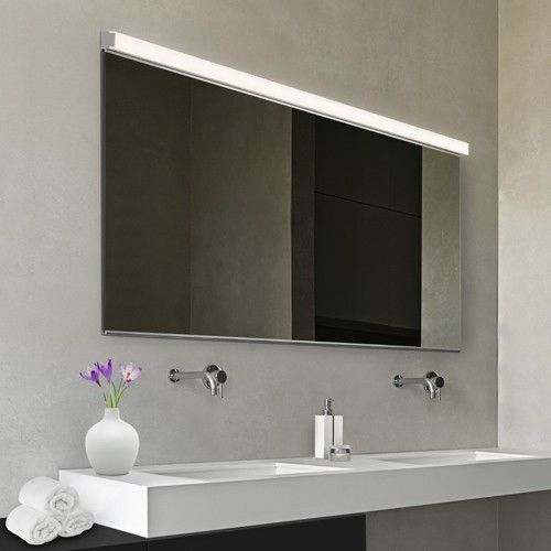 led bathroom vanity lights rectangular vanity slim bath bar mirrors pinterest vanity and bathroom lighting