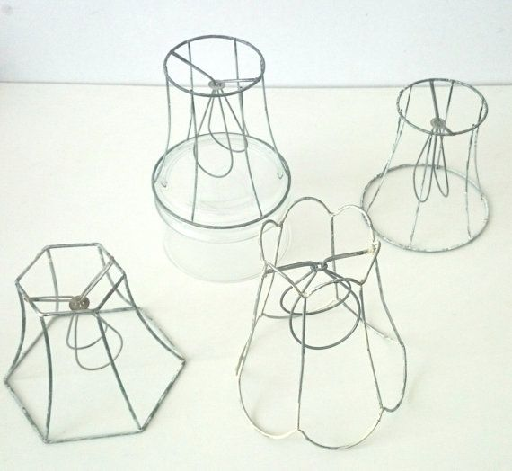 Wire Lampshade Frames Captivating 75 Best Diy Lampshade Frames Images On Pinterest  Diy Lampshade Decorating Design