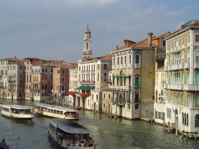 Canal Grande visto dal Ponte di Rialto, Venezia