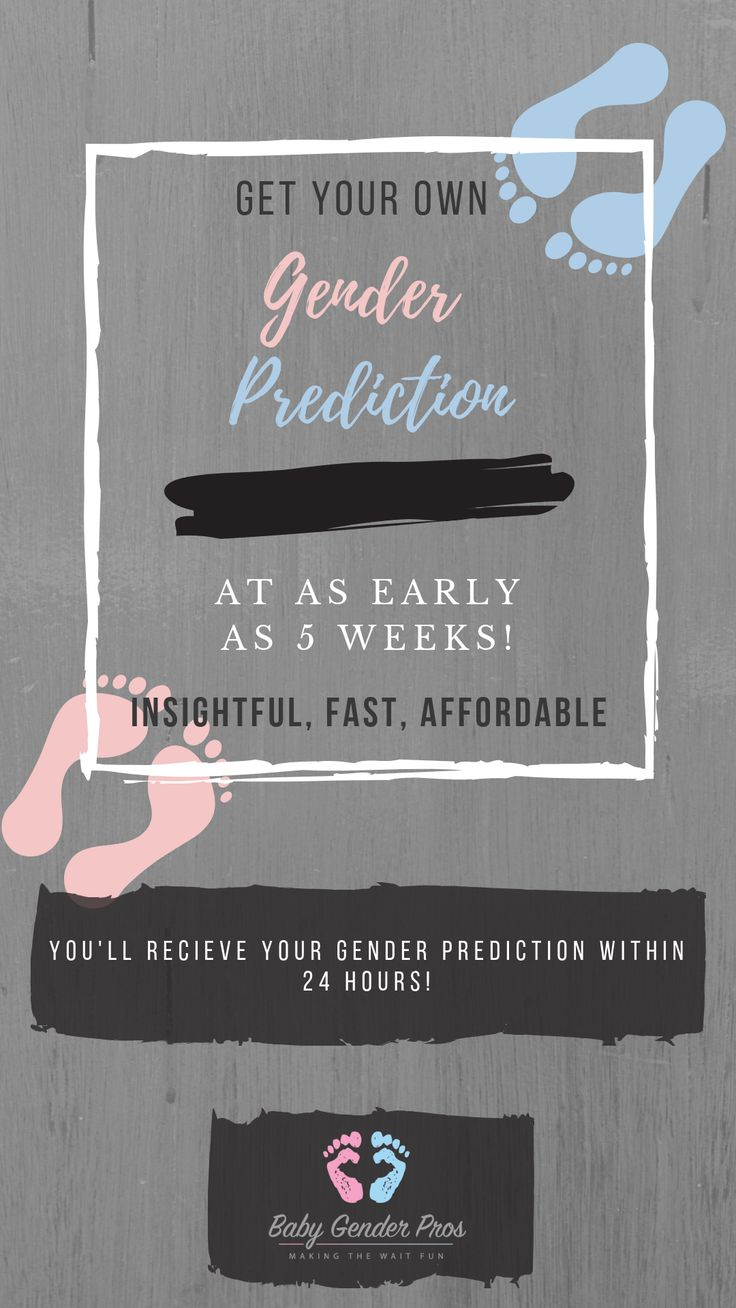 Erhalten Sie eine Geschlechtsvorhersage innerhalb von 24 Stunden!   – Baby Gender Predictions