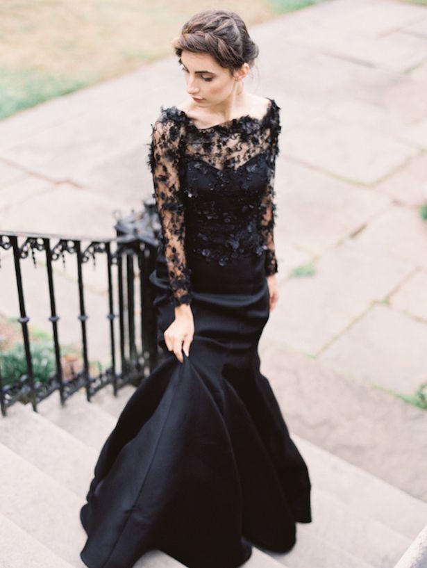 Black Wedding Dress - Sareh Nouri Fall 2015