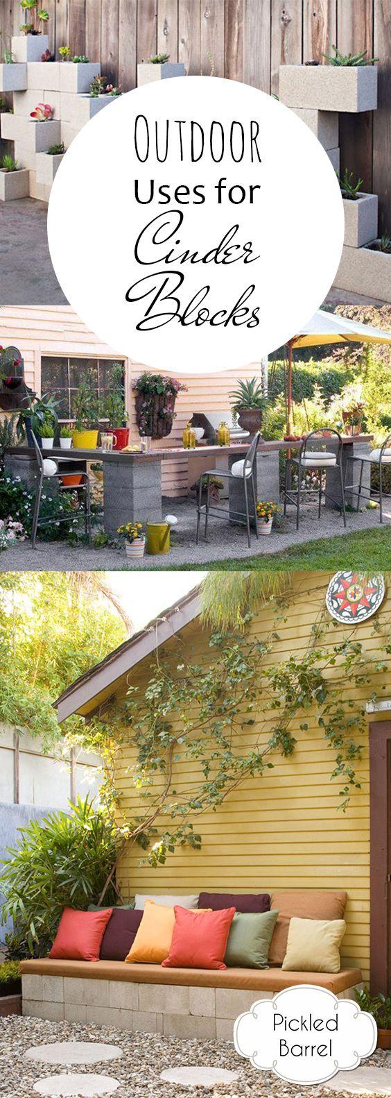Outdoor Uses for Cinder Blocks 913 best