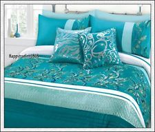 turquoise and white bedding sets ObLwQlc4