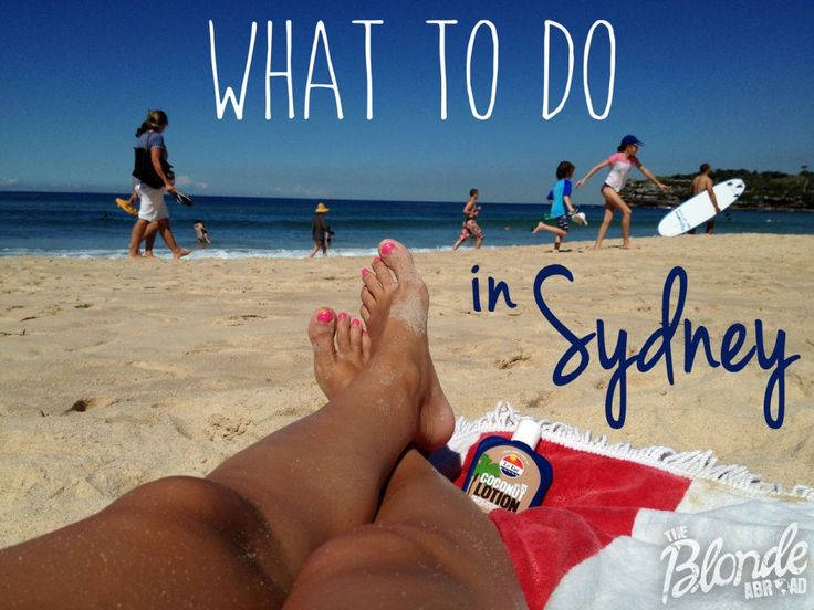 What to do in Sydney - The Blonde Abroad