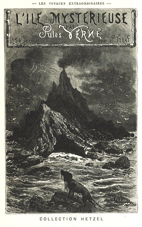 Misterious Island, Jules Verne