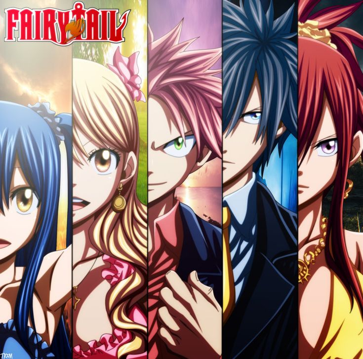 Photo of FT ♥ ♥ for fans of Fairy Tail. the fairy tail team except gajeel is missing what do you think?